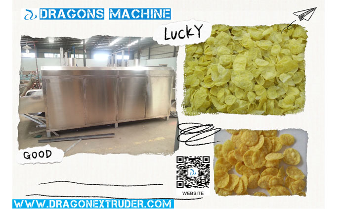 One Important Corn Flakes Equipment To Produce Corn Flakes