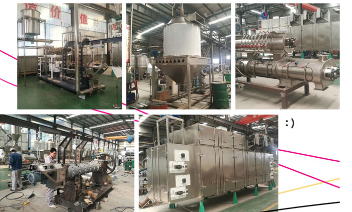 3 Ton Pet Food Processing Line Has Completed