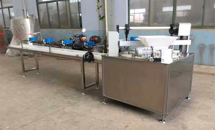 Snacks Bar Forming Machine Is Finished