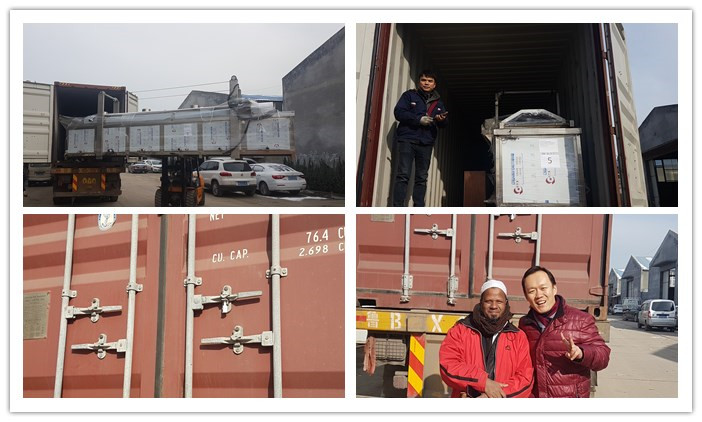 Delivery of 3D Snacks Extrusion Machine
