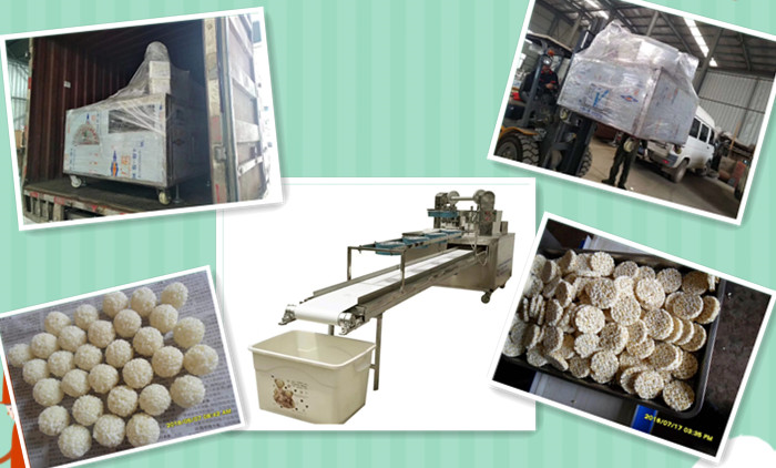 Delivery Of Cereal Block  Machine