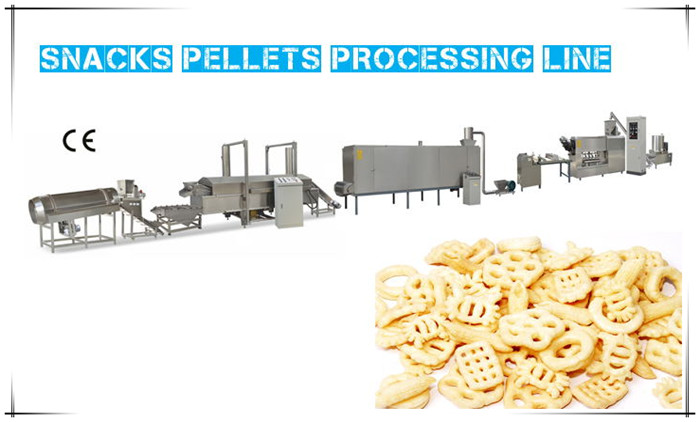 Snacks Pellets Processing Line