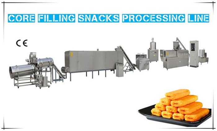 Core Filling Snacks Processing Line