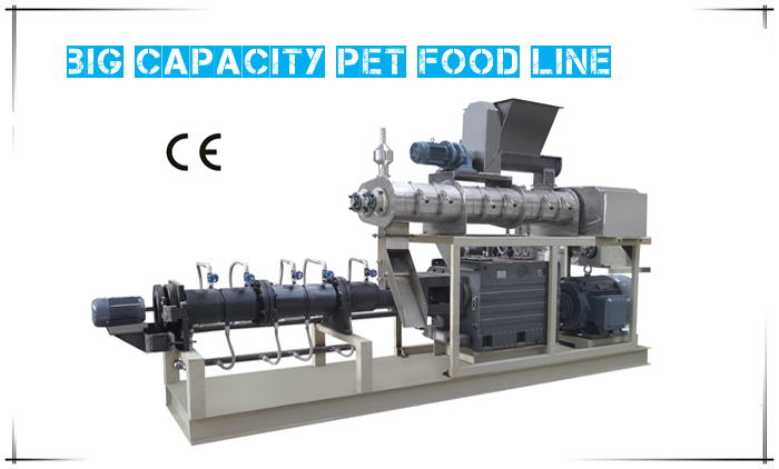 Big Capacity Pet Food Line