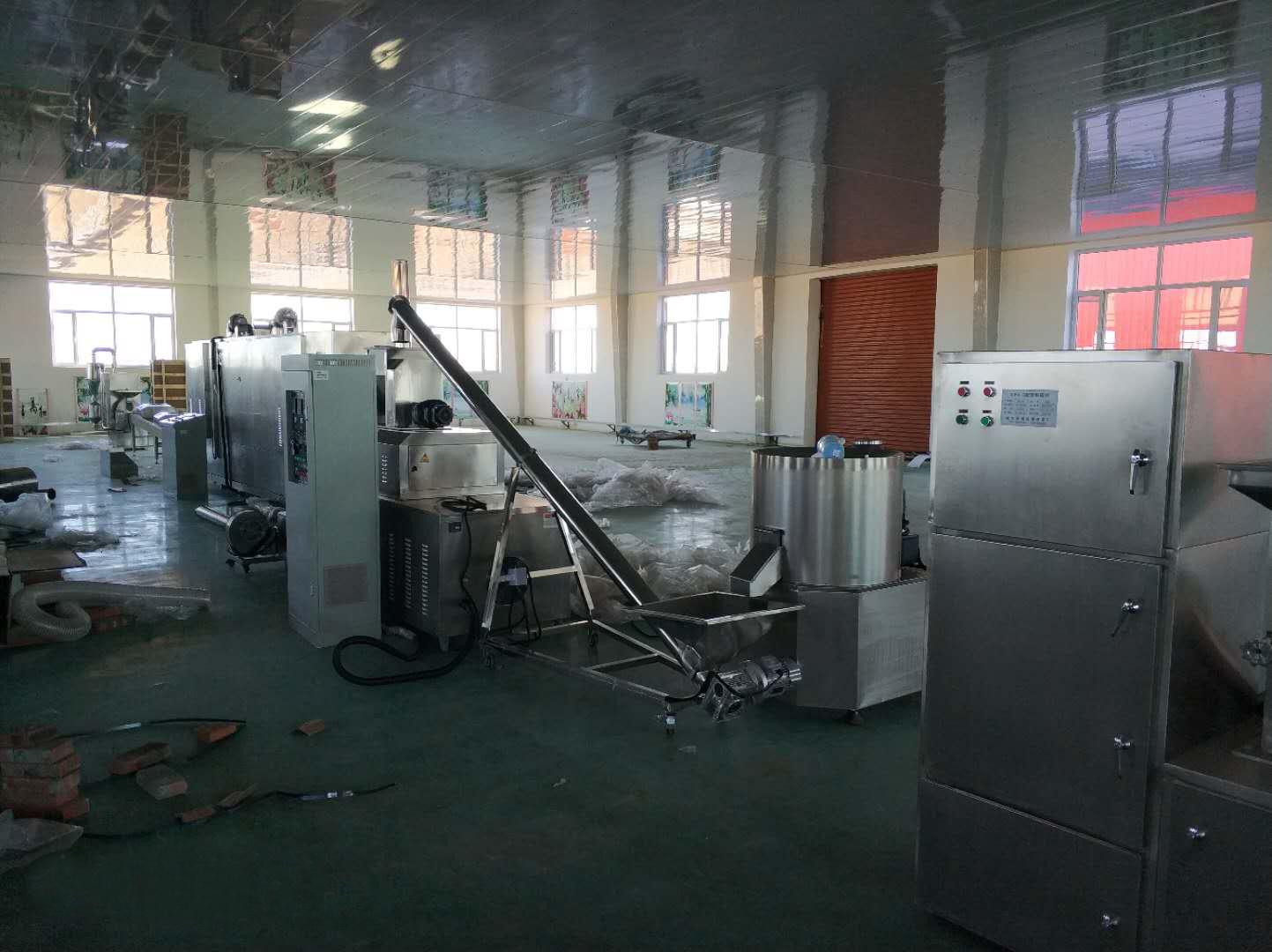 A Successful Installation of Nutrition Powder Machine