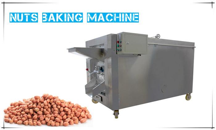 Nuts Baking Machine