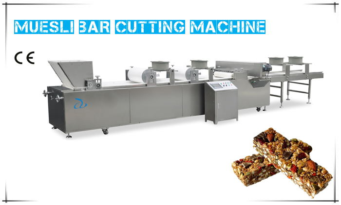 A Trial Running Of Muesli Bar Cutting Machine