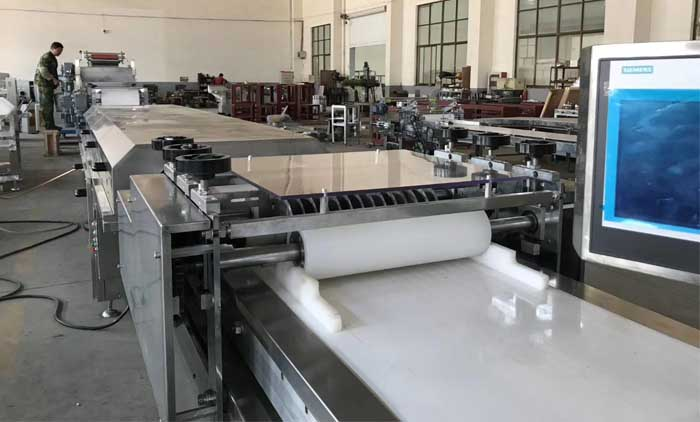 Newly Installed Granola Bar Processing Line