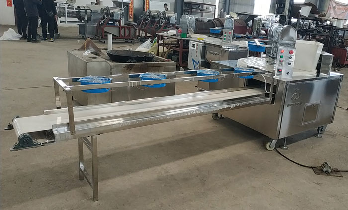 A New Snacks Bar Forming Machine